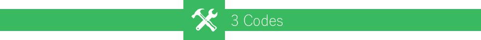 Three Codes